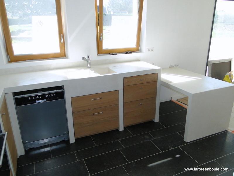 realiser une cuisine en siporex ralisation de 2 meubles extrieurs bton cellulaire platelage. Black Bedroom Furniture Sets. Home Design Ideas