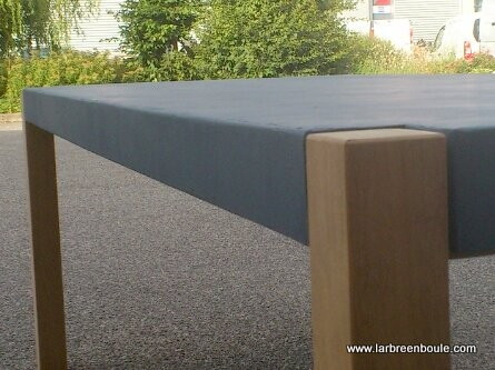 Stunning fabriquer table jardin beton contemporary design trends 2017 - Table jardin beton ...