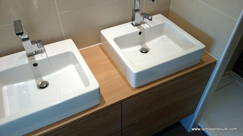 Vasque Sur Plan De Travail Salle De Bain
