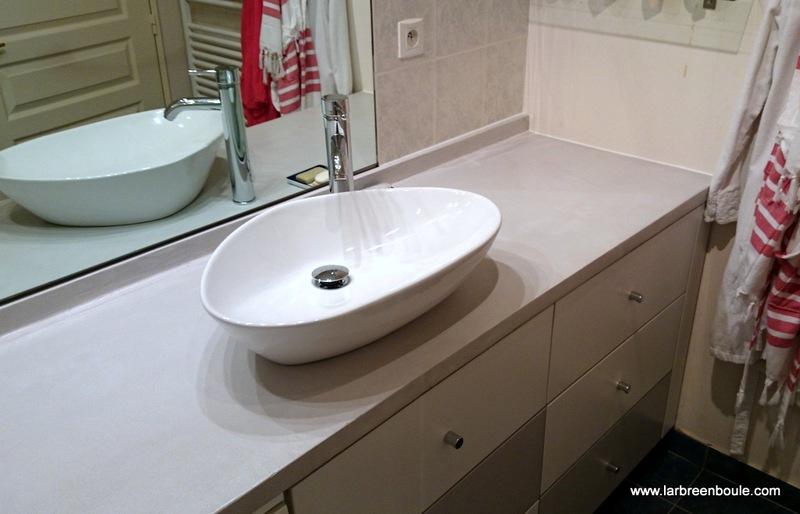 amnagement salle de bain plan vasque bton with panneau agencement salle de bain with panneau. Black Bedroom Furniture Sets. Home Design Ideas