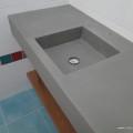 plan vasque lavabo intégré