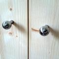 boutons de porte inox