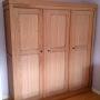 armoire chêne 3 portes