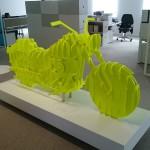 Harley sculpture bois