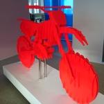 KTM sculpture bois